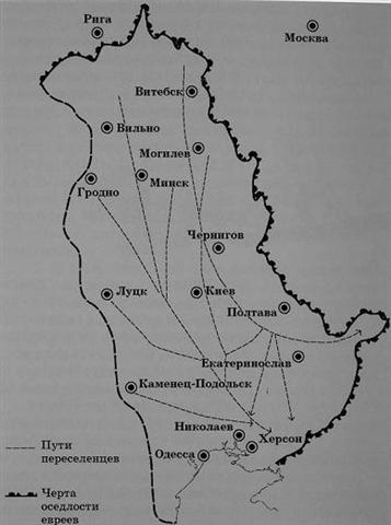 Схема переселения